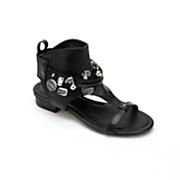 Monroe & Main Beaded Collar Sandal
