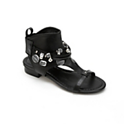 beaded collar sandal by monroe and main
