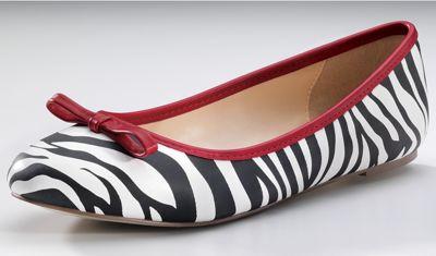 Monroe & Main Zebra Ballerina