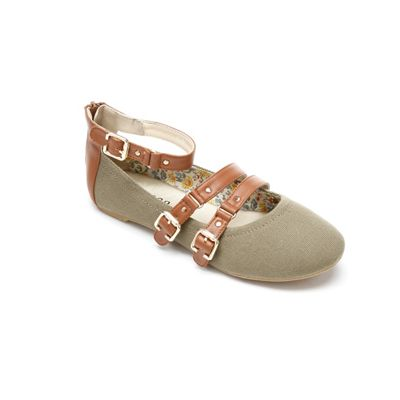Ankle Strap Ballerina by Monroe & Main