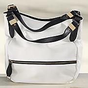 colorblock handbag