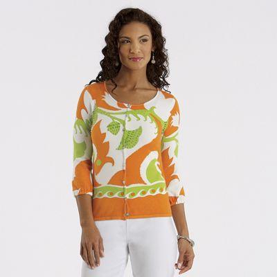 Citrus Bead Sweater