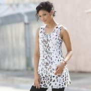 Sheer Animal Tunic