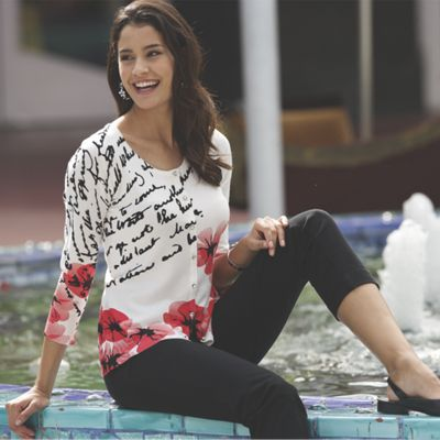Calligraphy Sweater