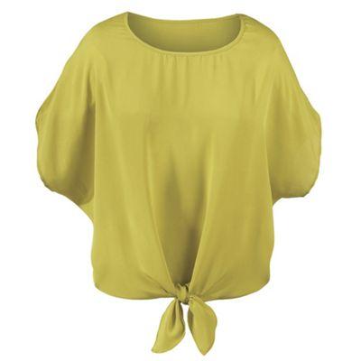 Tie-Front Blouse
