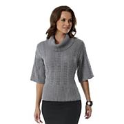 Sweater Pointelle Elbow Sleeve