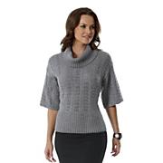 Pointelle, Elbow Sleeve Sweater