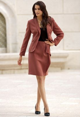 Soft Crepe Jacket & Skirt