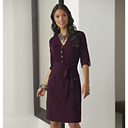 Knit Shirtdress