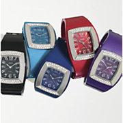 Watch Cuff  Colors and Crystals