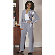 Butterfly Velour Set
