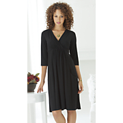 Pocket Surplice Dress