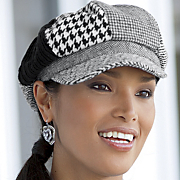 Plaid Newsboy Hat