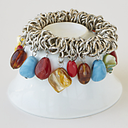 southwest nugget stretch bracelet