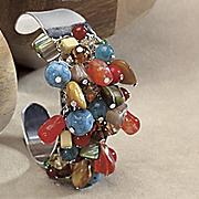 southwest nugget cuff bracelet