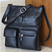 Leather Bag, New...