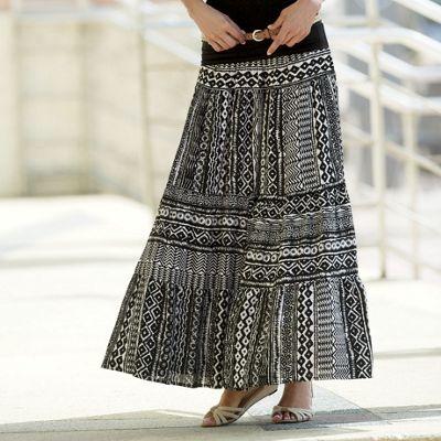 Ayira Ethnic Maxi Skirt