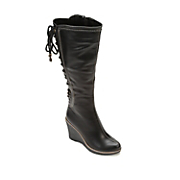 Monroe & Main Back Lace-Up Boot