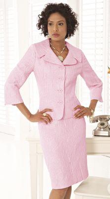 V.I.Pink Jacquard Suit