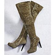Leopard Knee High Boot
