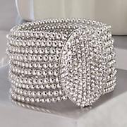 Crystal Pave Oval Stretch Bracelet