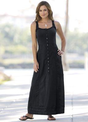 Maxi Mix Fabric Dress
