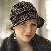 Winter In Bloom Hat