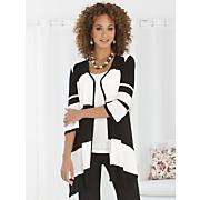 Stripe Flyaway Sweater