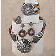 Multi Strand Medallion Jewelry