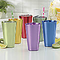 6-Piece Assorted 22-oz Aluminum Tumbler Set