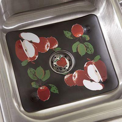Midnight Orchard Sink Mat & Strainer