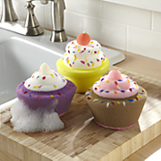 Set Of 3 Cupcake Sponges