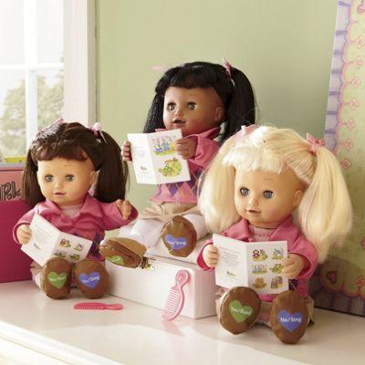 Sing 'N Read Allison Doll