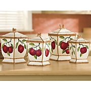 Canisters, Apple Set...
