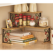 Apple Double Corner Shelves