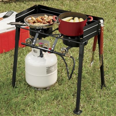 Double-Burner Propane Stove from King Kooker<sup class='mark'> &reg;</sup>