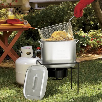 Oil-Saving Outdoor Fryer by King Kooker<sup class='mark'> &reg;</sup>