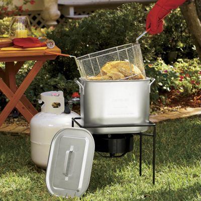 King Kooker<sup class='mark'> &reg;</sup> Oil-Saving Outdoor Fryer