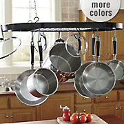 hanging ceiling pot rack