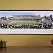 nfl panoramic picture w frame