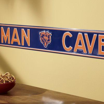 Man Cave NFL Street Sign