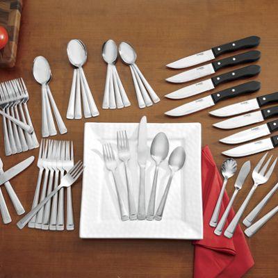 53-Piece Hartsel Flatware Set