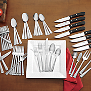 53 pc hartsel flatware set