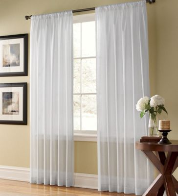 Weathershield Semi-Sheer Curtain Panel