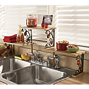 Apple Over The Sink Shelf A