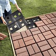 patio pal quick brick patio system