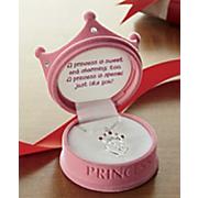 Princess Pendant In Pink Crown Box