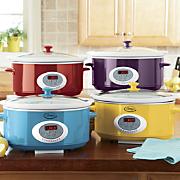 65 Quart Oval Digital Slow Cooker