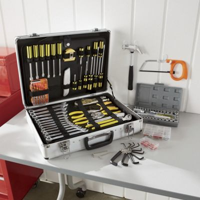 390-Piece Tool Set with Case