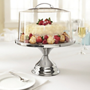 domed cake stand